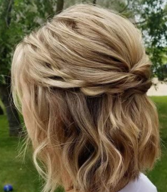 Braided Crown Short Hair