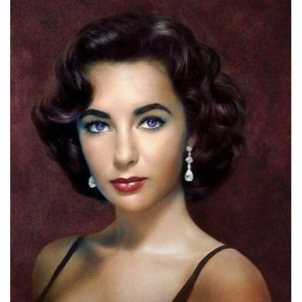 Liz Taylor Short Hair