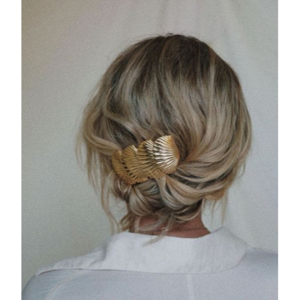 Statement Hair Clamp Short Hair