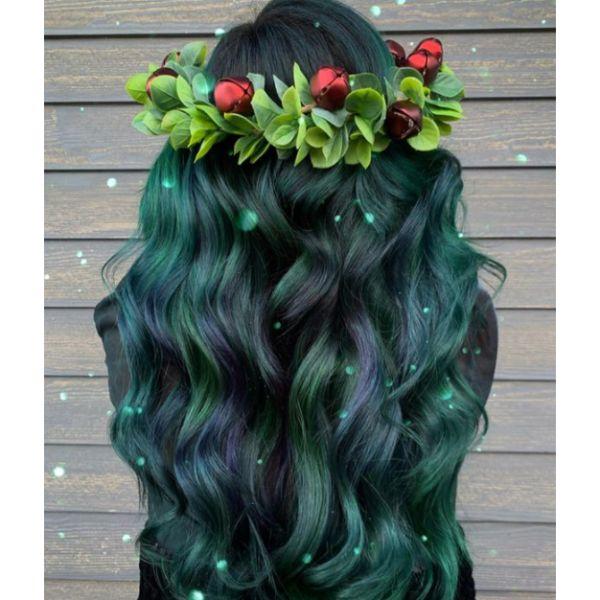 Festive Christmas Curls