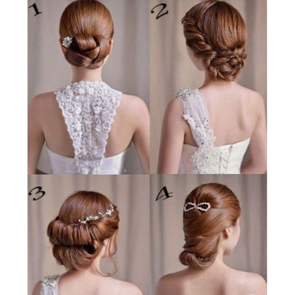 Intricate Down-Do For Special Occasions: Four Looks