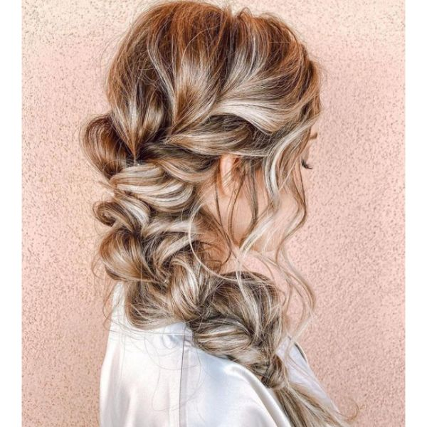 Loose & Messy Side Braid