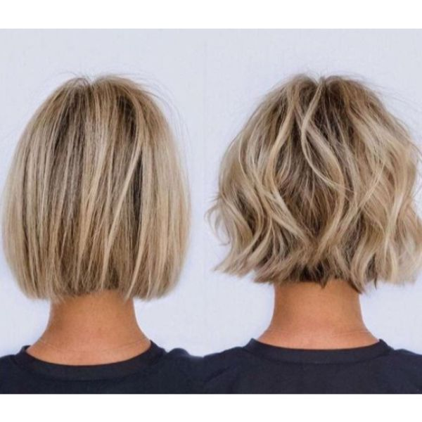 Bob With Highlights, Two Looks