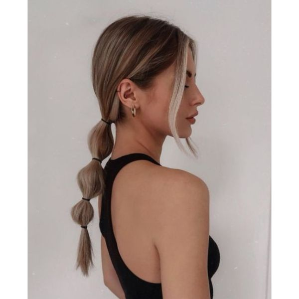Bubble Braid For Thin Hair