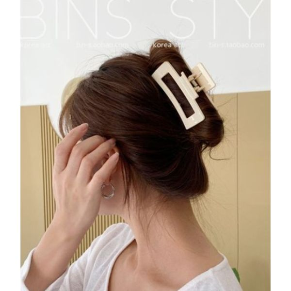 Easy Clamp Updo For Thin Hair