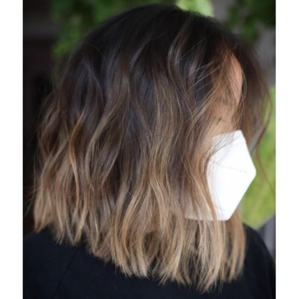 Balayage A-Cut For Thin Hair