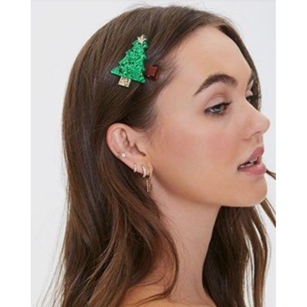 Add Some Festive Hair Clips