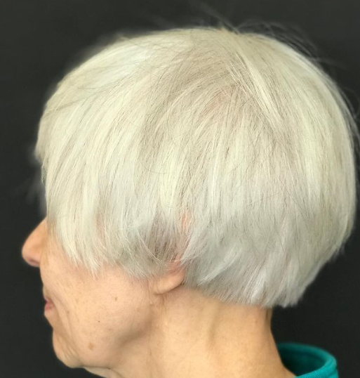 Bob idea for short haircuts for older women